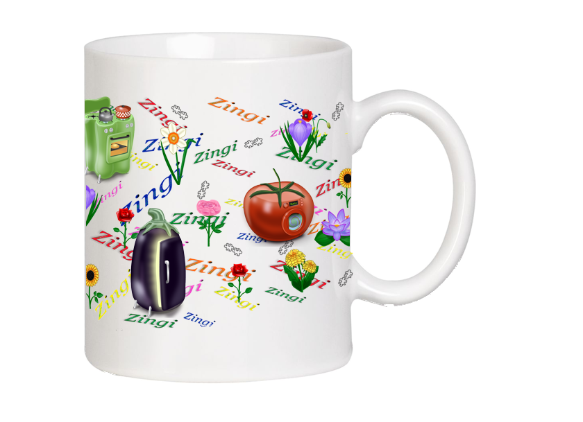 Pictures gallery of Zinkod, mug, souvenir, positive, Zingi, Zinkod is an open book, in which everyone can make his own chapter.